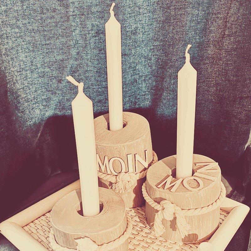 Karte - Kerzenhalter
