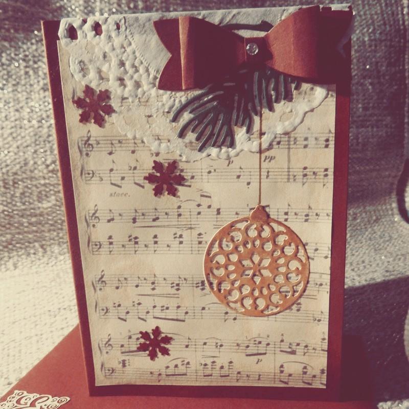 Karte - Weihnachtszeit