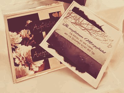 Karten Geschenkset