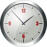Eine Uhr, die für unsere Öffnungszeiten steht